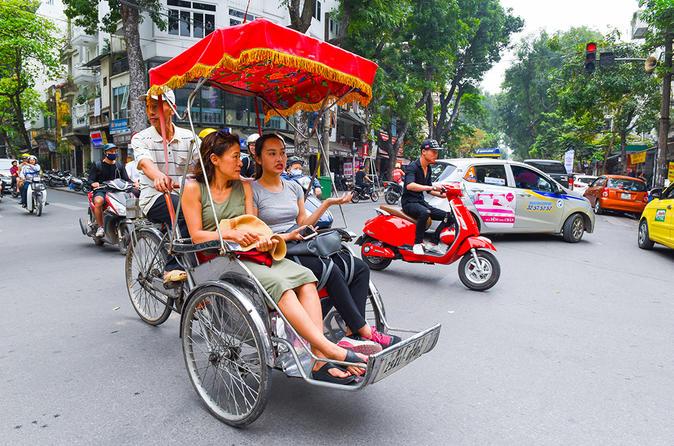 Hanoi cyclo and walking small group tour in hanoi 536299