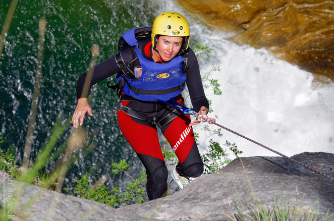 Extreme canyoning on cetina river from split in split 196411