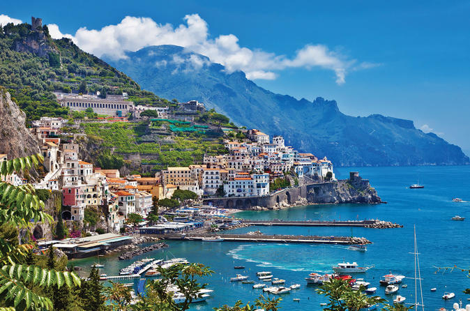 Private 8-hour excursion from Naples Cruise Port or City Hotel to Amalfi Coast