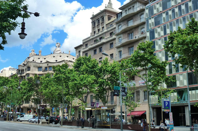 Private Half Day City Tour in Barcelona