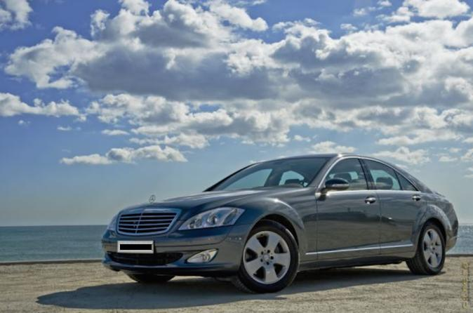 Private Luxury Transfer from El Prat Airport to Barcelona City Centre