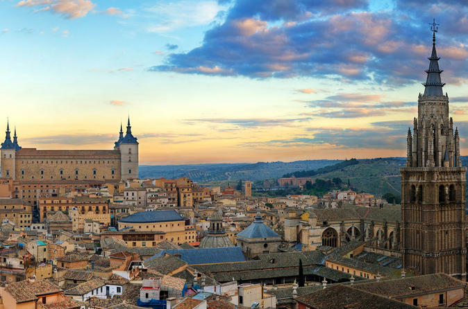 Toledo Private Tour with Royal Palace of Madrid
