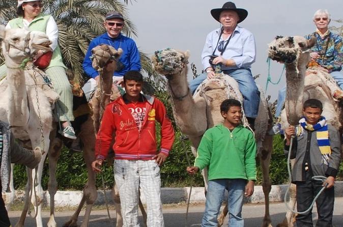 Horseback Camel or Donkey Ride Along the West Bank