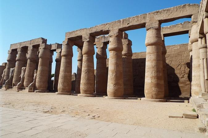 Private Full Day Tour to Luxor Monuments from Safaga