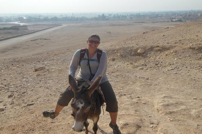 Ride a Donkey Along the West Bank from Luxor