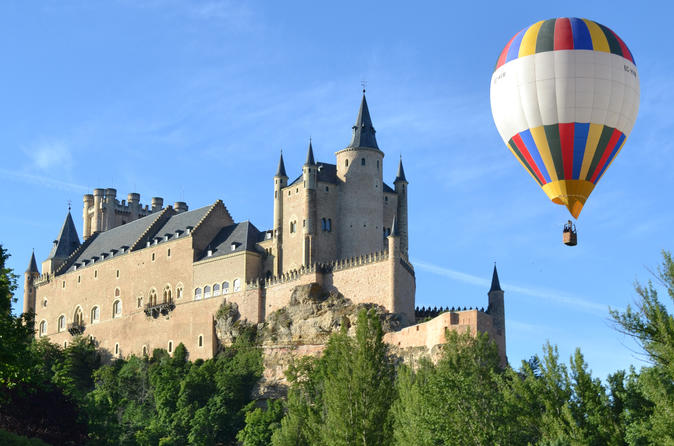 Hot Air Balloon Flight Over Segovia or Toledo with Optional Transport from Madrid