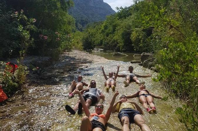 Gorge walking in Sicily's Best Canyon