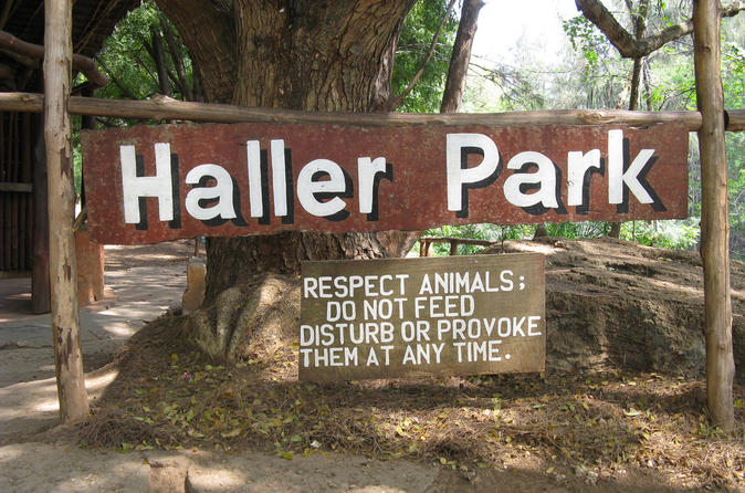 Haller park and mamba village day trip in mombasa 211774