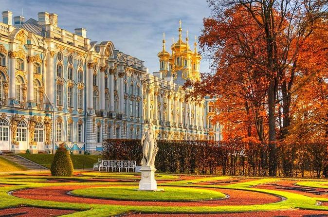 St-Petersburg Imperial Suburbs: Peterhof and Catherine Palace Tour