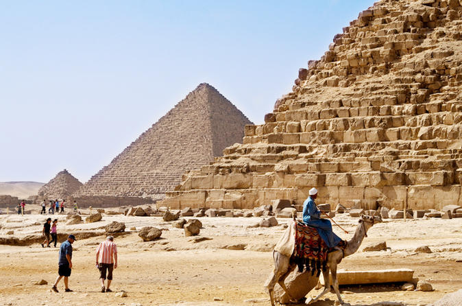 Day Tour to Cairo from Hurghada by Air Giza Pyramid and Sphinx and Museum