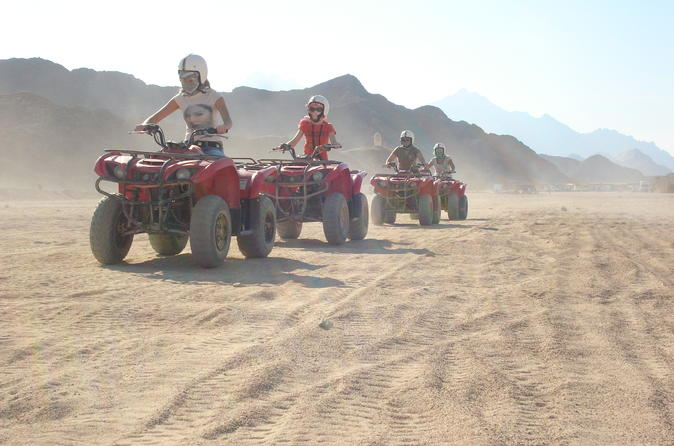Quad biking in the egyptian desert from hurghada with sunset and show in hurghada 264610