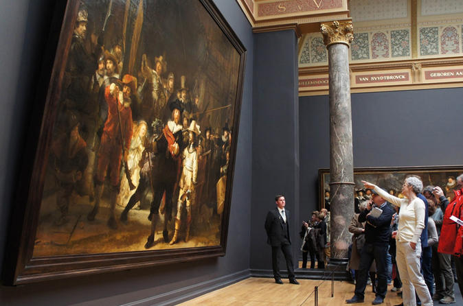 Private Tour: Skip the Line Ticket and Guided Tour of the Rijksmuseum Amsterdam