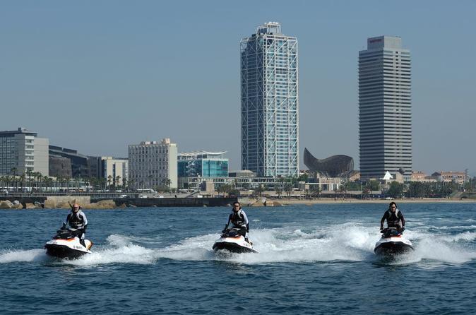 Ferrari Driving And Water Activities In Barcelona