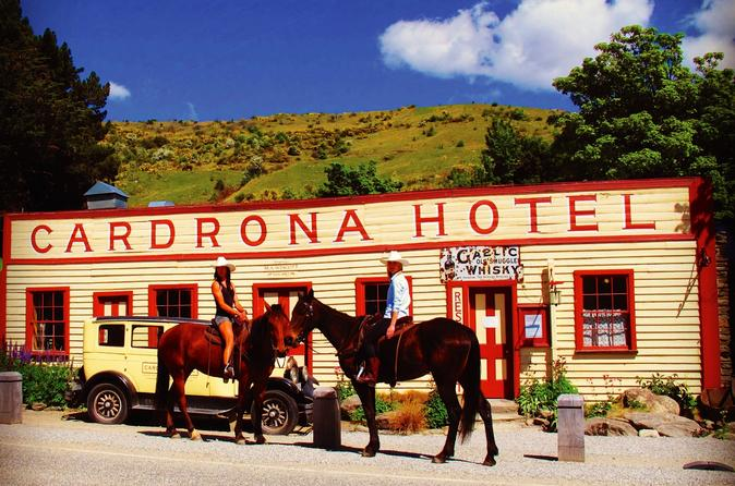 Cardrona high country pub trail horse riding trek in wanaka 206878