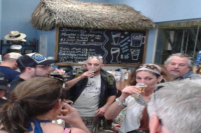 Cayman Islands Bar Hopping Tour plus Rum Distillery and Beer Factory Visit