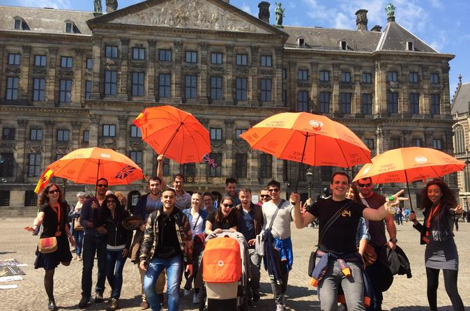Amsterdam Walking Tour with Coffee and Dutch Treat
