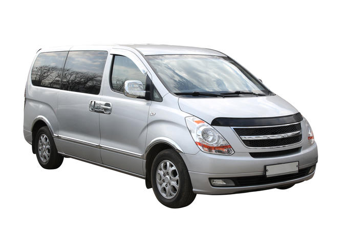 Transfer in private luxury Minivan from Los Angeles City Downtown to Airport