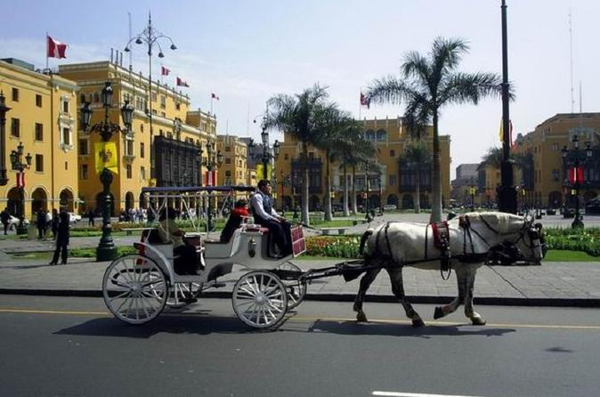 City tour privado por Lima incluindo o Museu de Larco