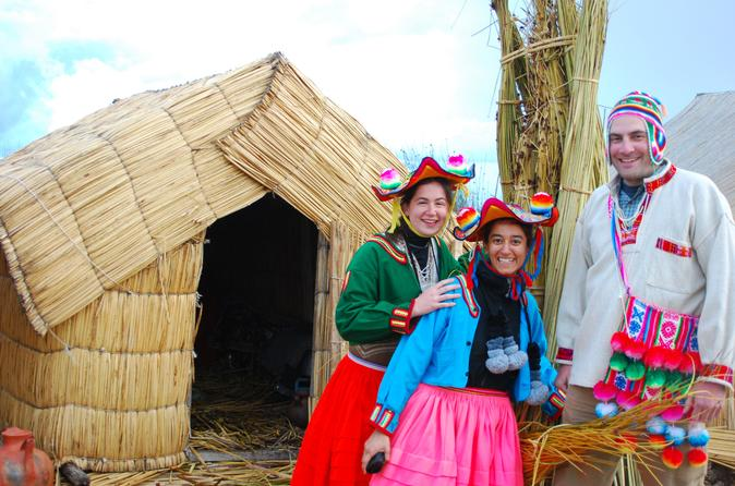 Private day tour of the uros floating islands and taquile island in puno 193443