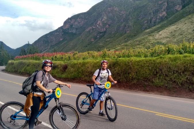 Private Tour: Maras and Moray Bike Adventure