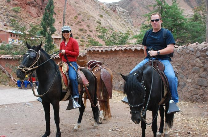 Private Tour: Maras Moray Visit and Peruvian Paso Horseback Riding