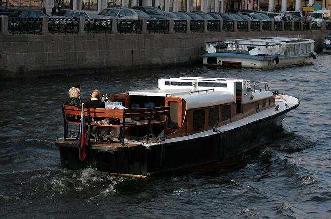 Saint-Petersburg Private Boat Tour