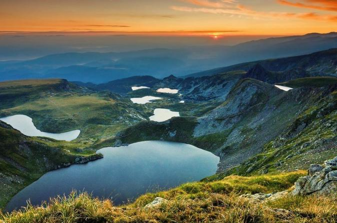 Rila Mountains And The Seven Rila Lakes From Sofia