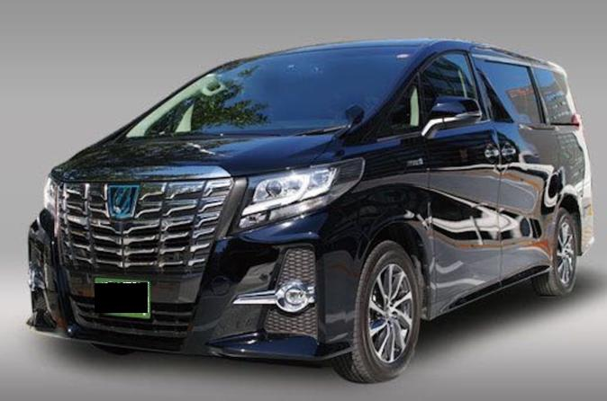 Private Alphard Hire in Osaka Kyoto Nara Kobe with English Speaking Driver
