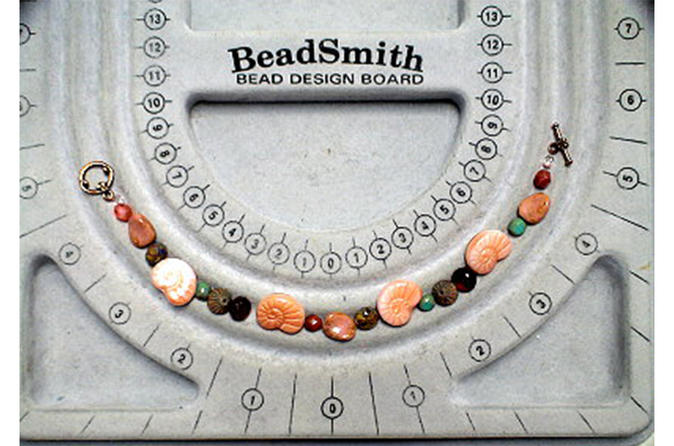 Basics of Bead Stringing and Attaching Clasps
