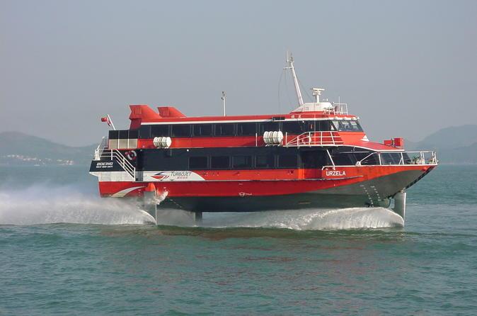Hong kong to macau ferry transfer