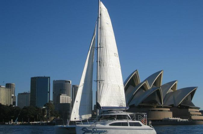 Luxury Yacht and Catamaran Sailing Charters on Sydney Harbour