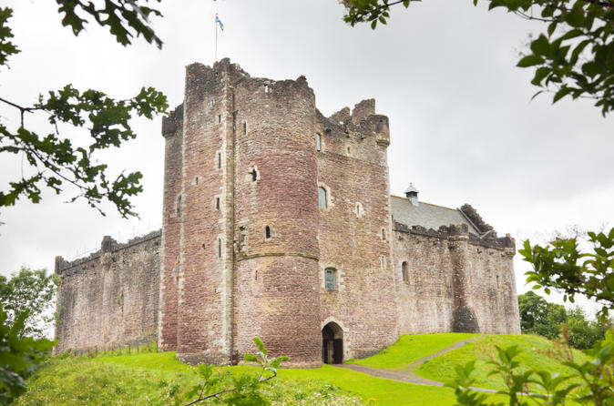 Doune Castle and Loch Lomond with the Western Highlands