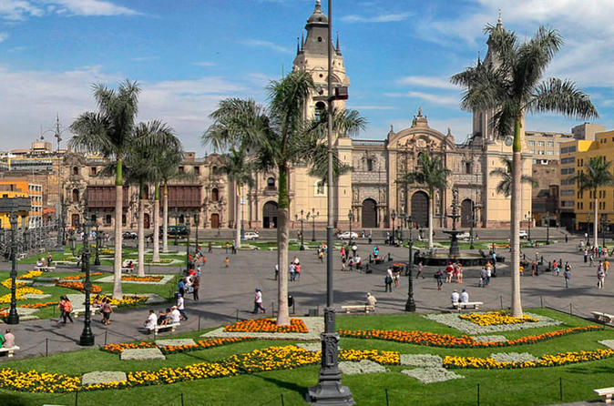 GTP Tours - City Tour in Lima - Highlights of Lima