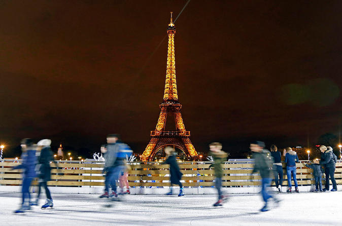 Christmas in Paris 4-Day Tour from London