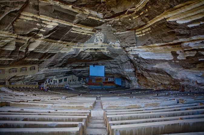 Excursão diurna particular: Pirâmides de Gizé, Esfinge , Cairo Copta e Igreja de São Simão no Cairo