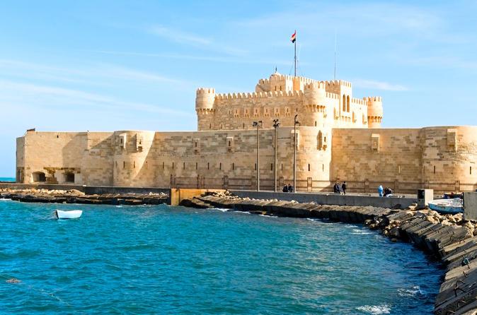 Excursão particular de dia inteiro: a histórica Alexandria partindo do Cairo