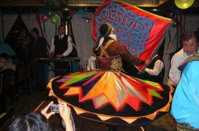 Nile River Dinner Cruise with Egyptian Show