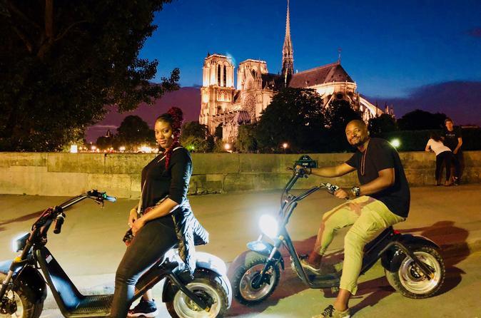 Night Tour of Paris in E-bike