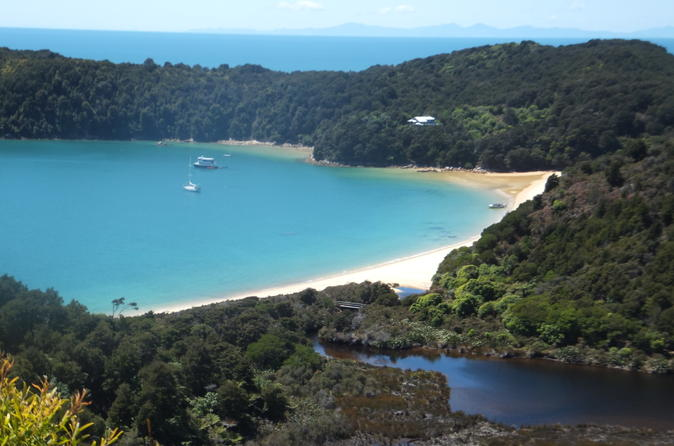 Full day abel tasman national park hiking tour with cruise in nelson 189315