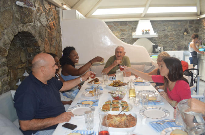 Traditional lunch or dinner at the mykonian spiti in mikonos 341900