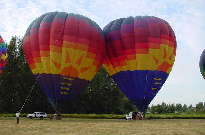 Sunset Evening Balloon Flights