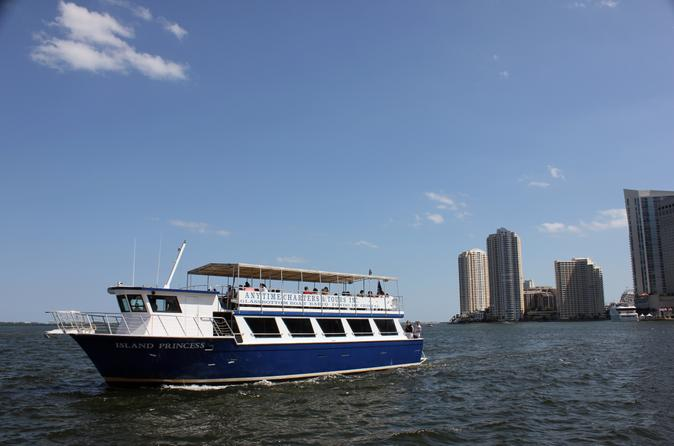 Sightseeing cruise of biscayne bay in miami 190385