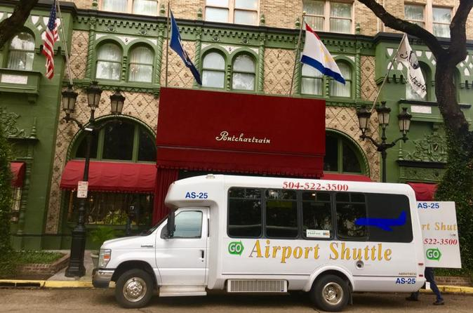 Official Round-Trip Shared Transfer: To & From New Orleans Airport (MSY)