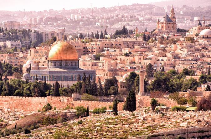 Day Tour of Jerusalem and Bethlehem from Tel Aviv