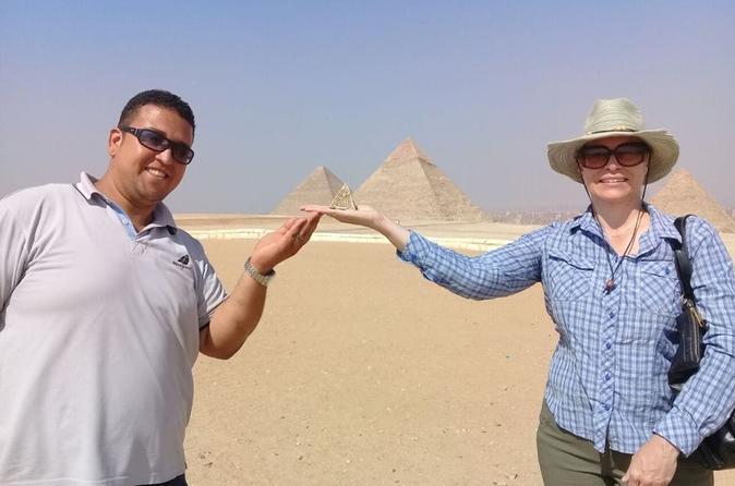 Giza pyramids sphinx felucca ride on Nile river