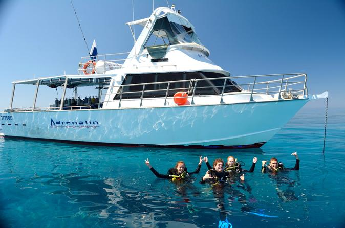 Great barrier reef dive and snorkel cruise from townsville or in townsville 200903