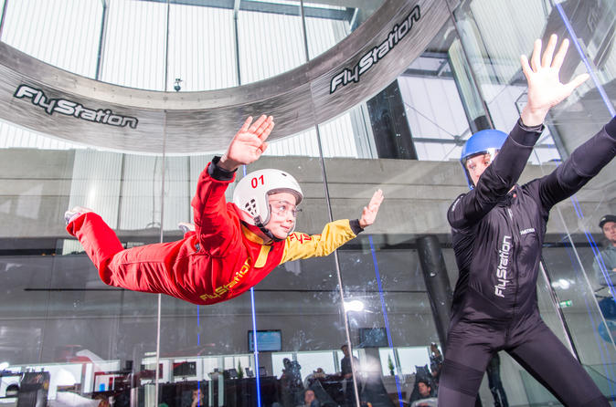 Bodyflying in windtunnel Flystation