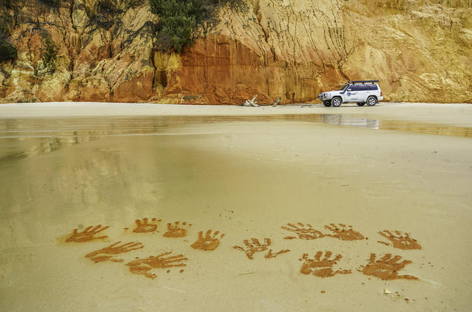 The Great Beach Drive: 4WD Tour Between Noosa and Rainbow Beach