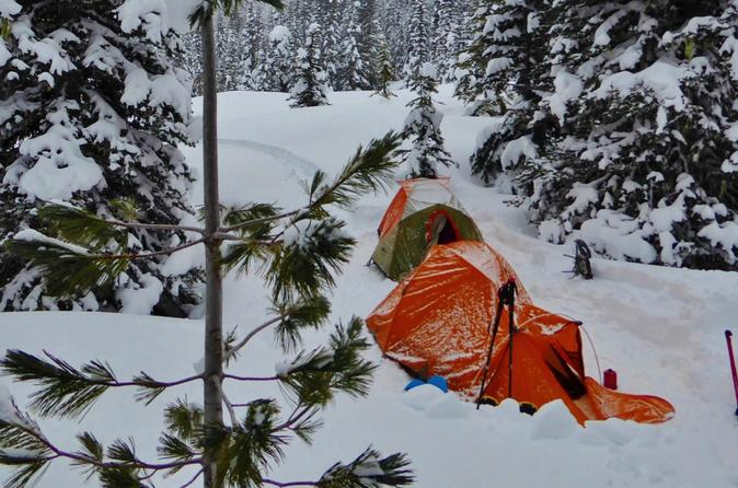 Mount Saint Helens Winter Camping