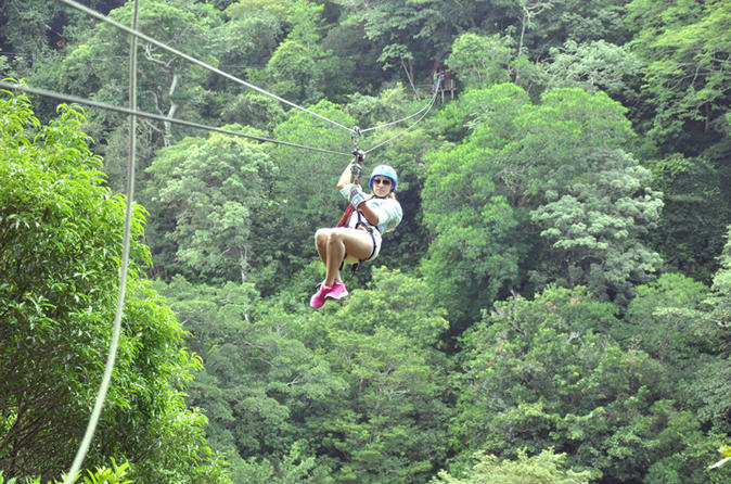 Borinquen combo horseback riding and canopy tour in playa hermosa 209335